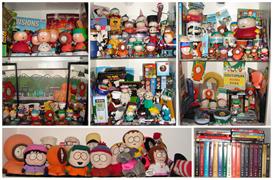 Zwerg-im-Bikinis South Park Merchandise Sammlung