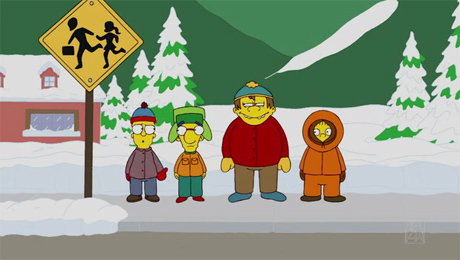 South Park bei den Simpsons