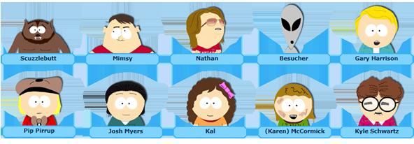 10 neue Charaktere