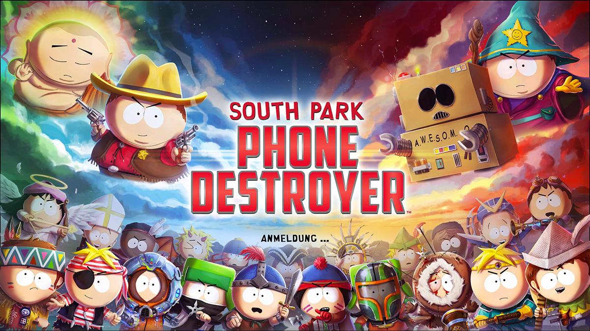 Planearium South Park Phone Destroyer