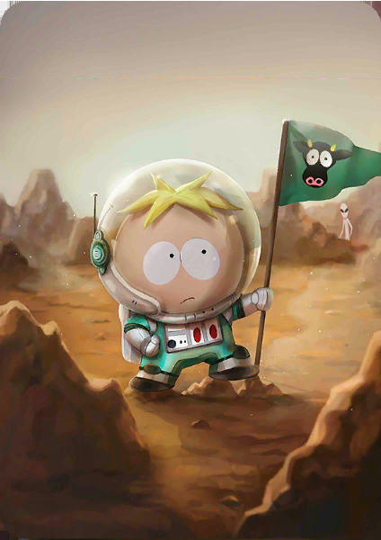Astronaut Butters